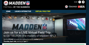 Virtual Field Trip   Madden NFL  Football by the Numbers